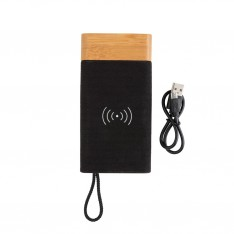 Powerbank Inalámbrico Bamboo X
